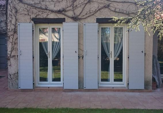Rénovation d'une porte-fenêtre en PVC